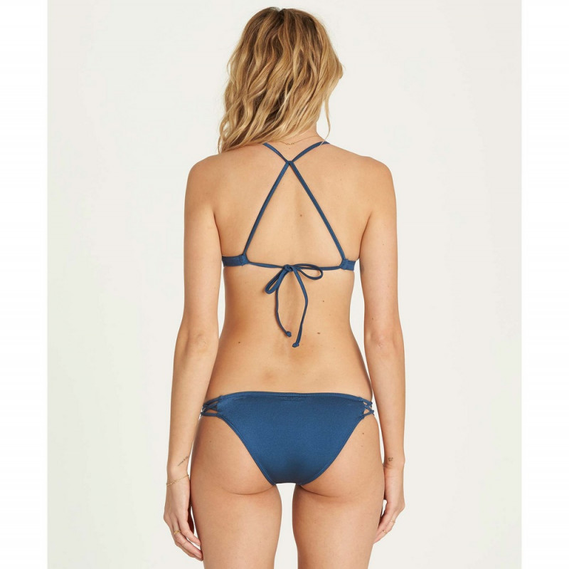 Sol Searcher Fixed Triangle Bikini Top (Deep Jade)