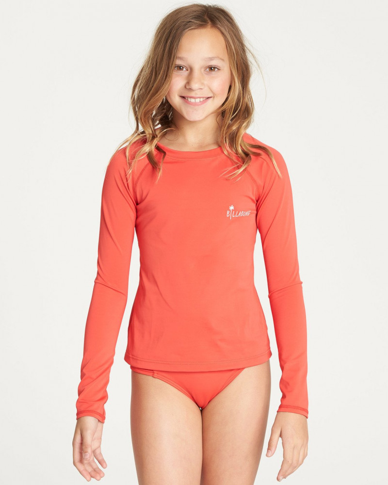 Girls' Sol Searcher Long Sleeve Rashguard