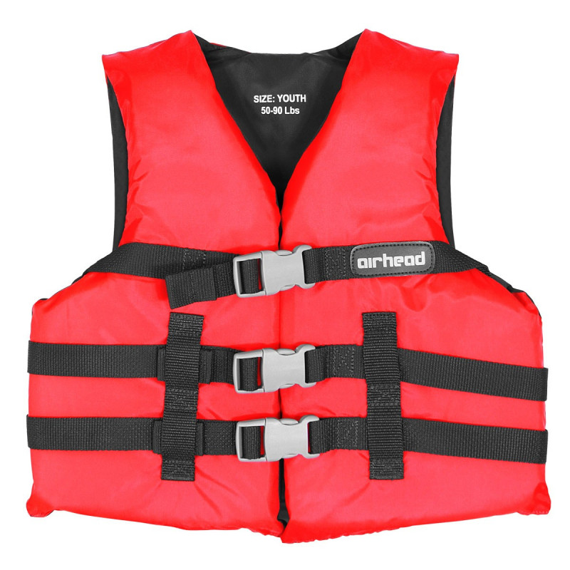 Youth, General Boating PFD, Red