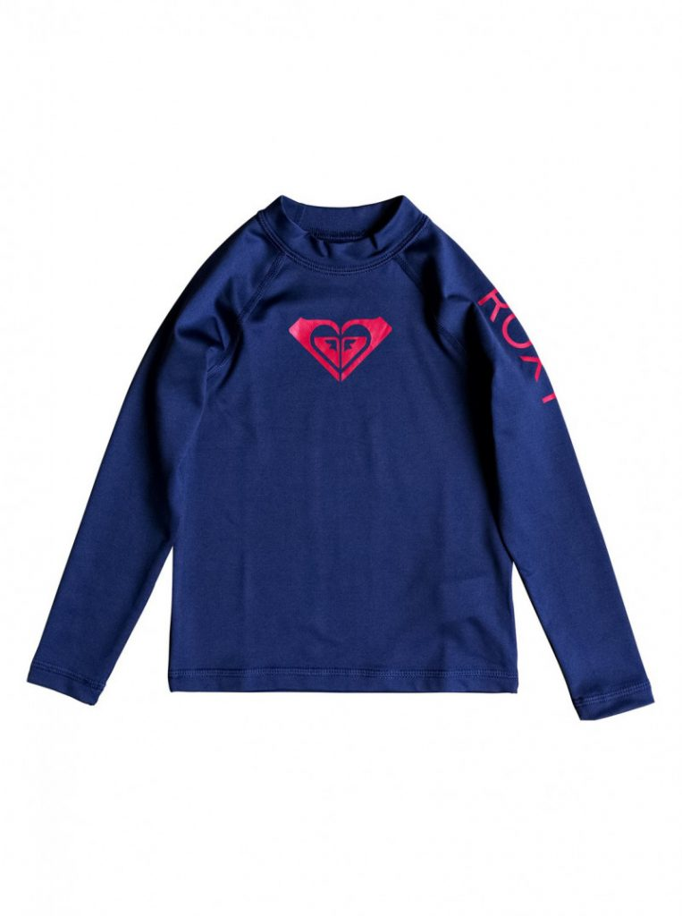 Girls 2-6 Whole Hearted Long Sleeve UPF 50 Rashguard