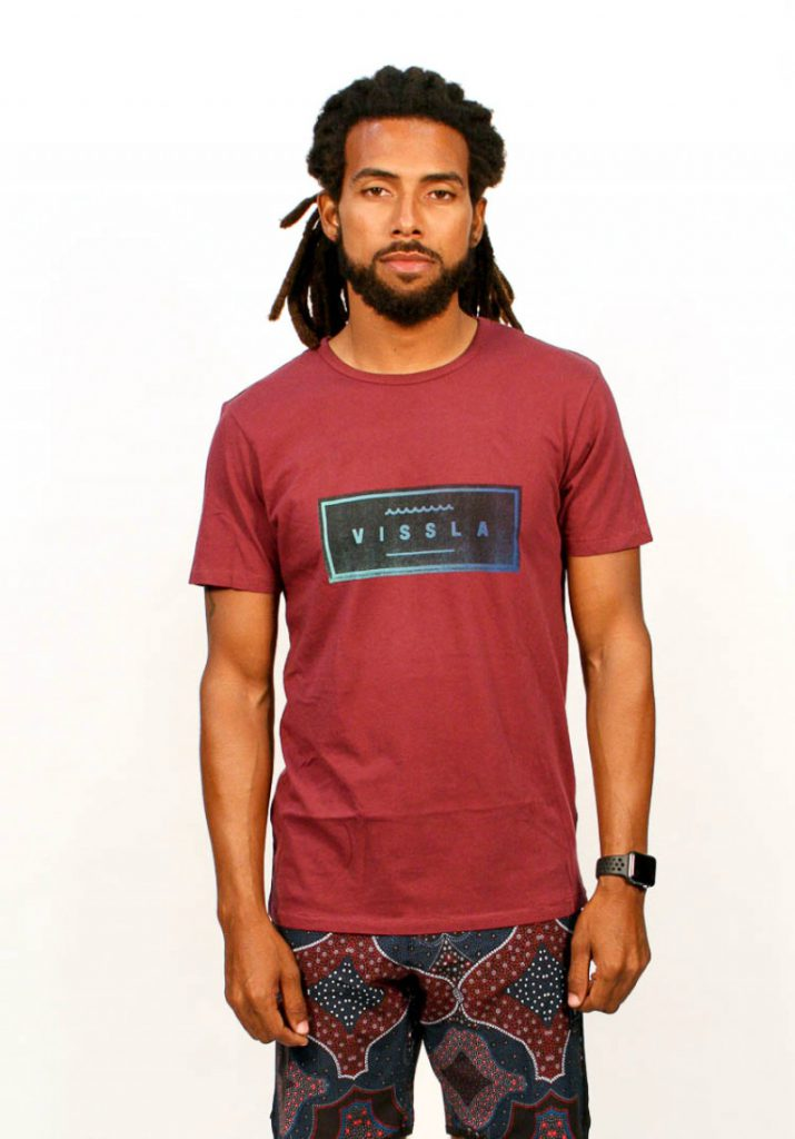 Vissla Men's Submerged Vintage Wash Short Sleeve Tee