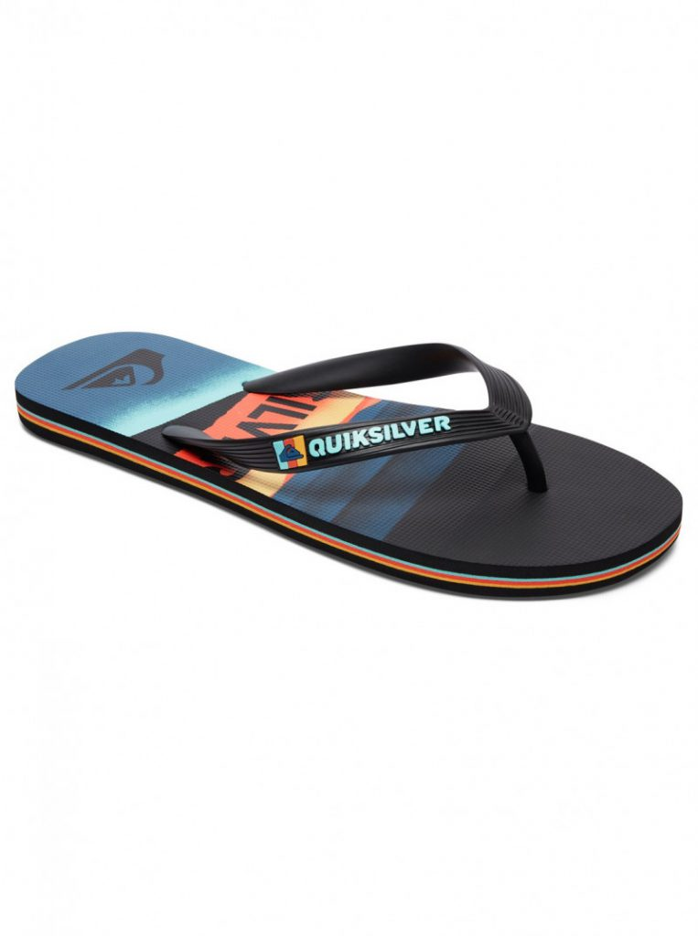 Boy's 8-16 Molokai Slash Logo Sandals