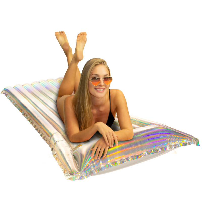 PoolCandy Holographic Pillow Raft