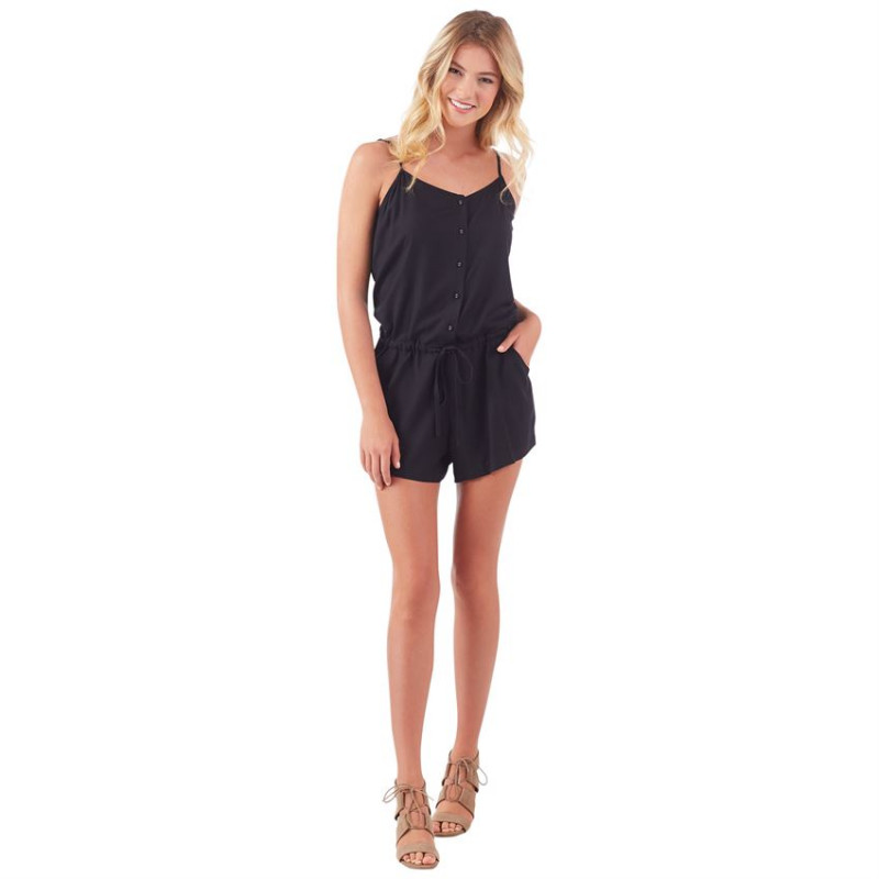 DENVER ROMPER IN BLACK
