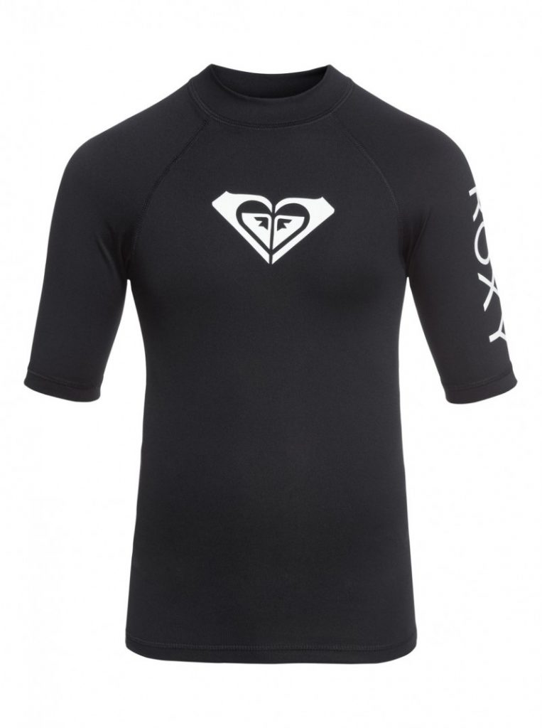 Girl's 7-14 Whole Hearted Short Sleeve UPF 50 Rashguard