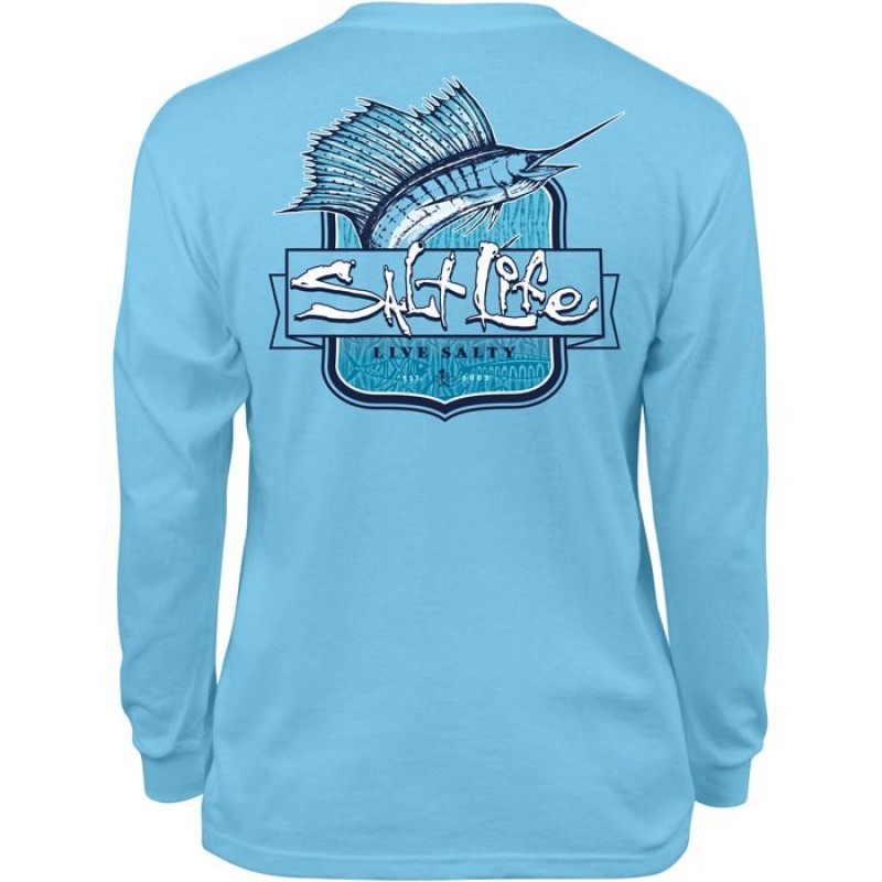 Sailfish Tribe Youth Long Sleeve Tee