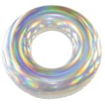 PoolCandy Jumbo Holographic Pool Tube