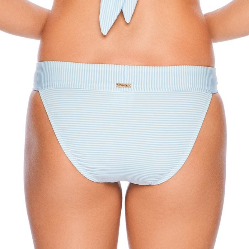Ocean Vibes Ministripe Banded Bottoms