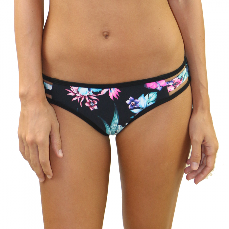 Wild Flower Strappy Side Bottom