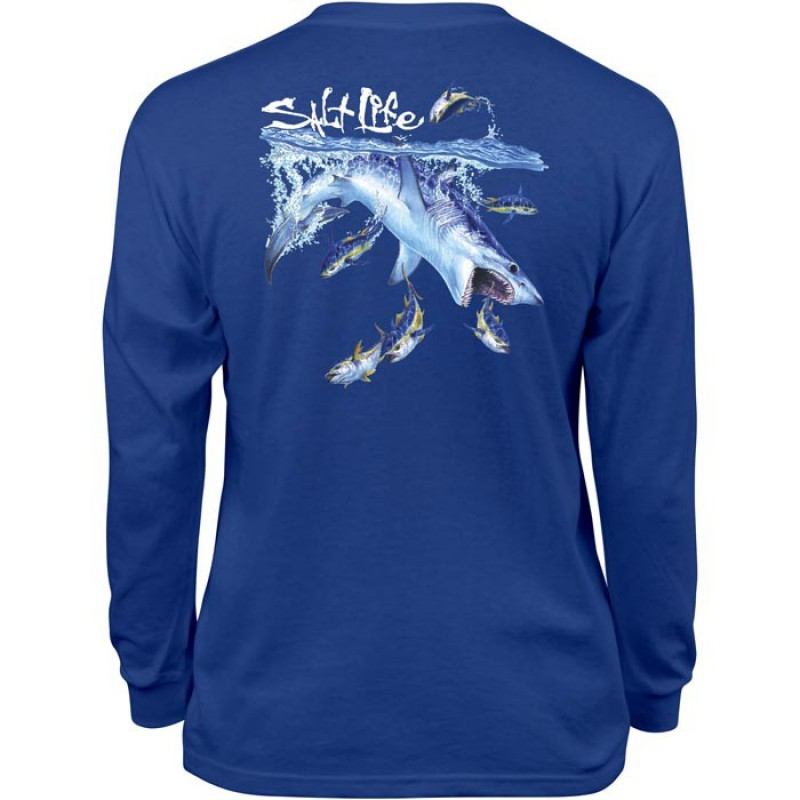 Mako Sushi Youth Long Sleeve Tee