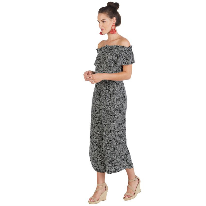 JASMINE OFF-THE-SHOULDER JUMPSUIT
