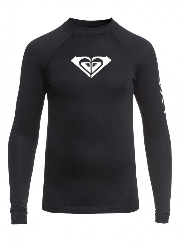 Girl's 7-14 Whole Hearted Long Sleeve UPF 50 Rashguard