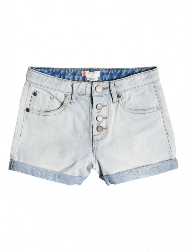 Girls 7-14 Go Find Yourself High Waisted Denim Shorts