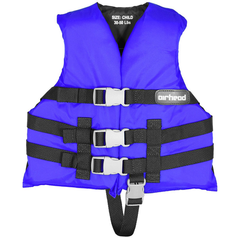 Child, General Boating PFD, Open Side, Blue
