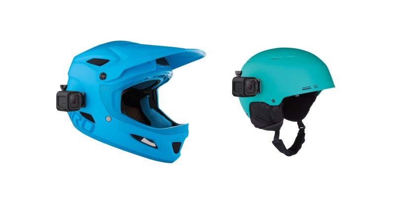 GoPro Curved + Flat Mount