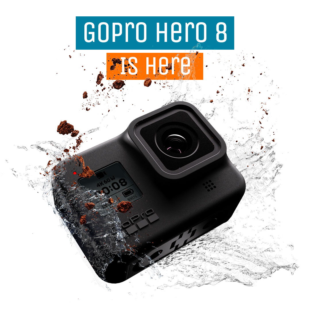 GoPro Hero 8 Black Is Here