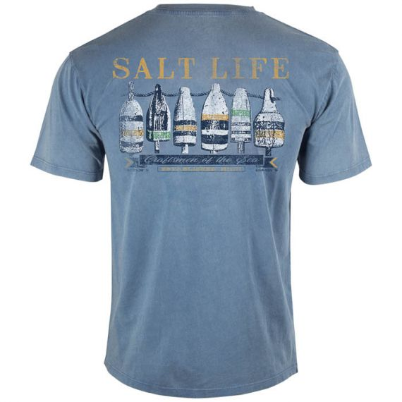 Lobster Buoys Salt Wash Pocket Tee