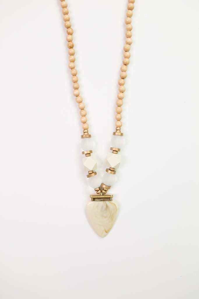 Necklace Cairo Clear