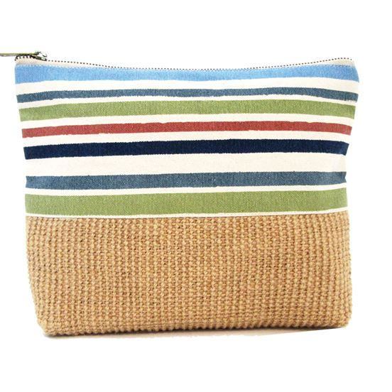 Striped Pouch
