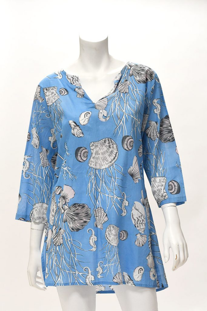 Printed Cotton Tunic