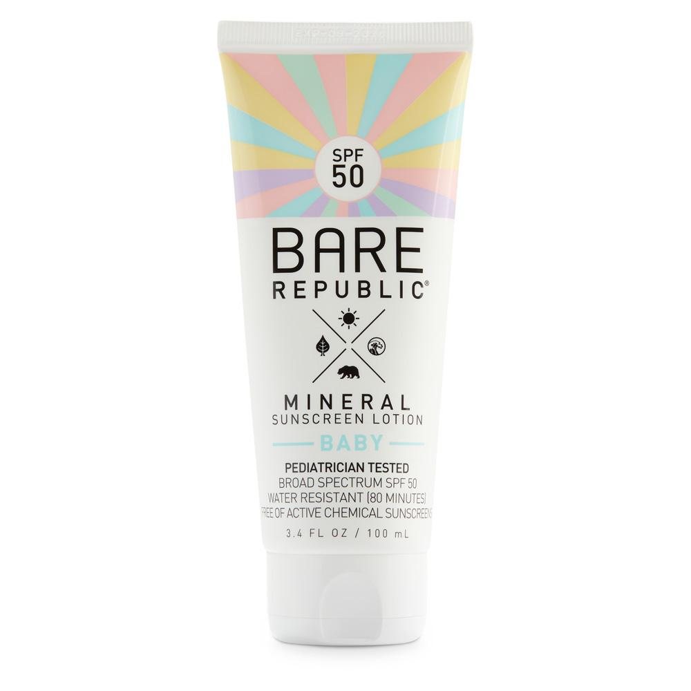 Mineral SPF 50 Baby Sunscreen Lotion