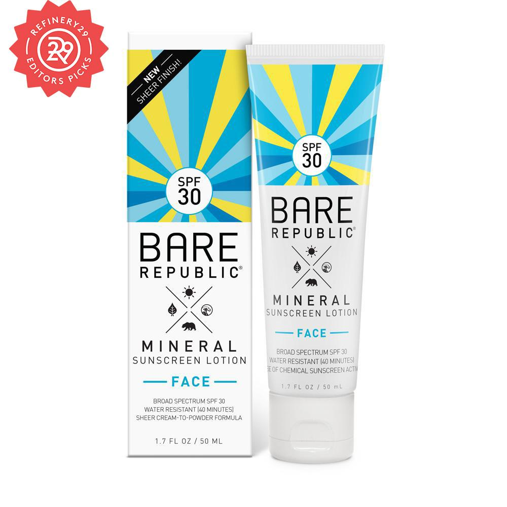 Mineral SPF 30 Face Sunscreen Lotion – Untinted