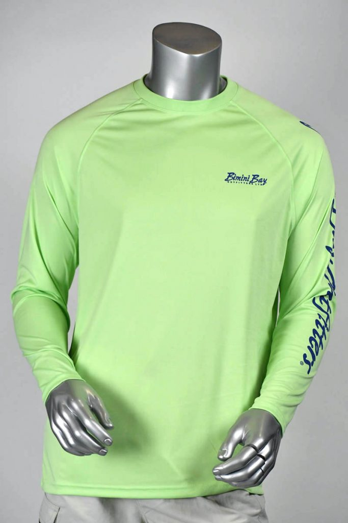 Hook'm Performance Long Sleeve (Mahi) UPF50