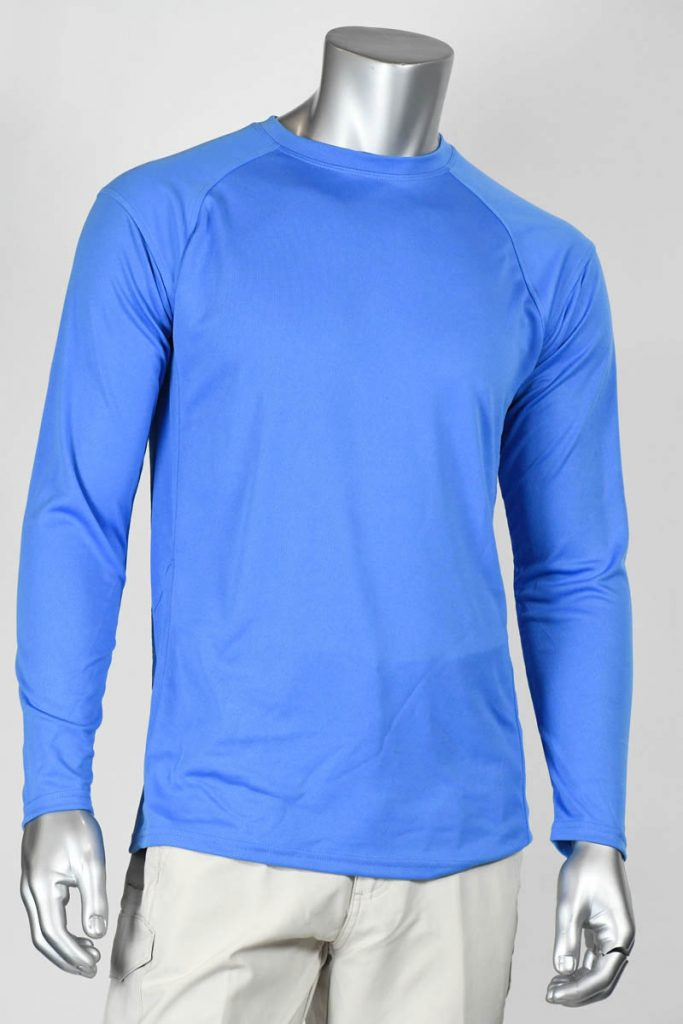 Plain Cabo UPF50 Long Sleeve Crew