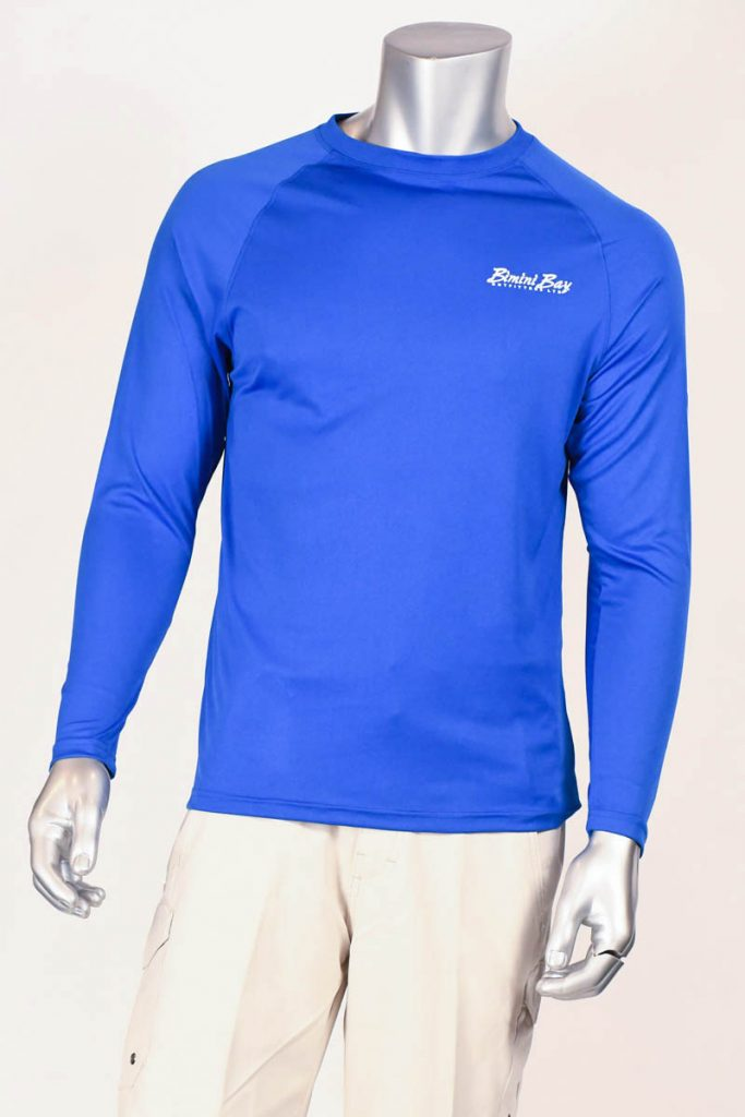 Hook'm Performance Long Sleeve (Mako) UPF 50