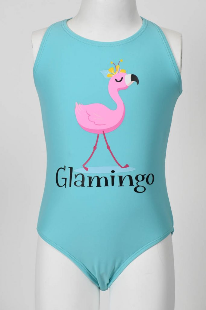 Girls 1 Piece Glamingo