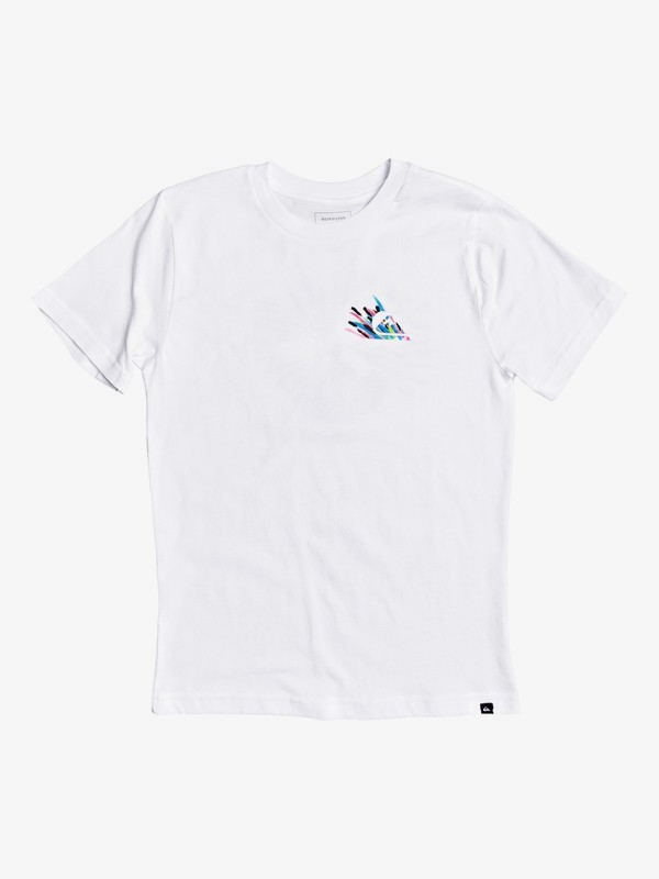 Qsb Boy's 8-16 Shallow Water T-Shirt (White)