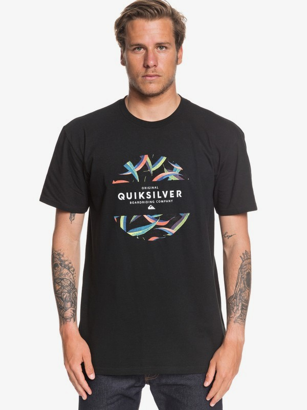 Qsm Mixed Prints Tee