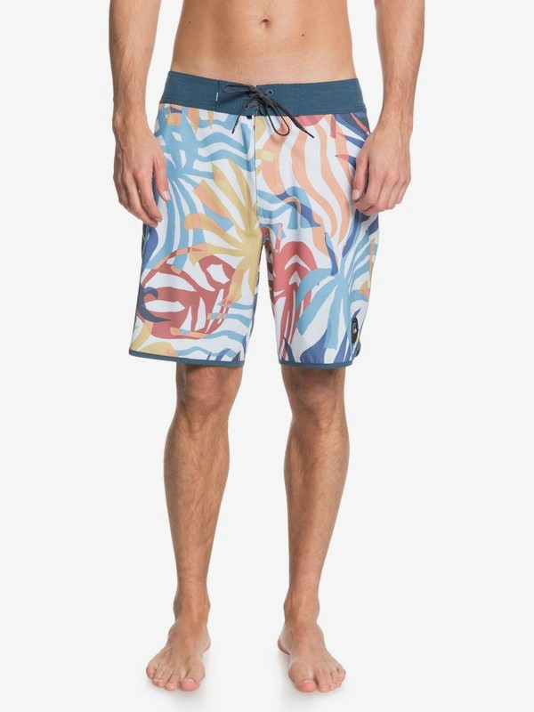 Qsm Highline Vacancy Scallop 19″ Boardshorts
