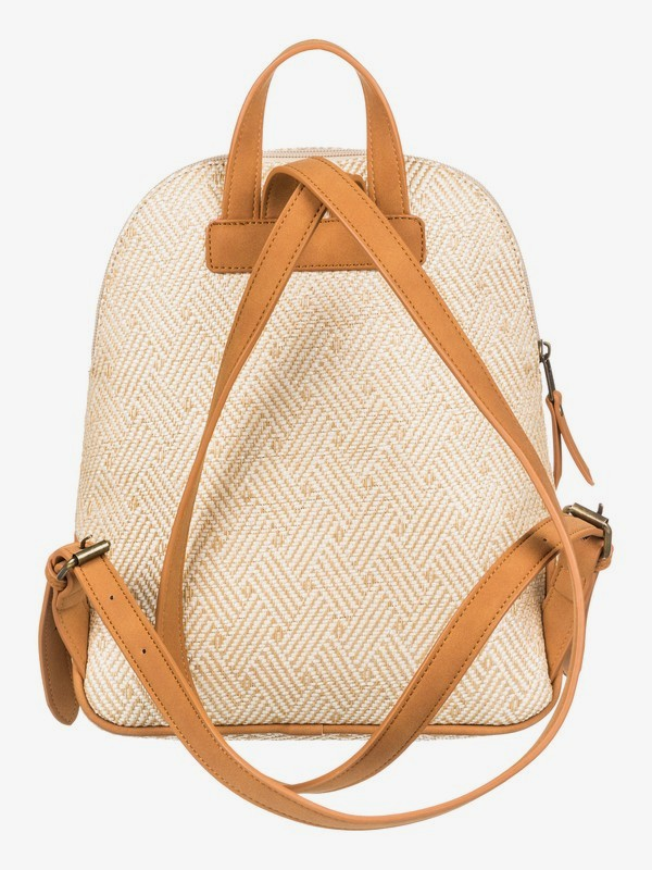 Here Comes The Sun Straw Backpack