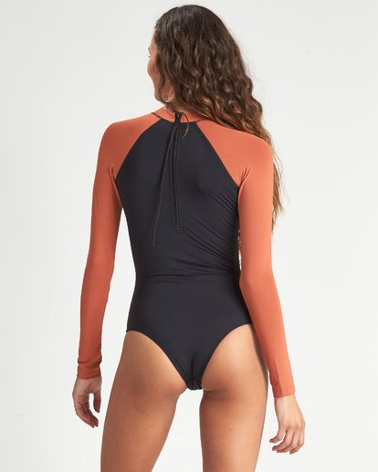 Sol Searcher Bodysuit (Black Pebble)