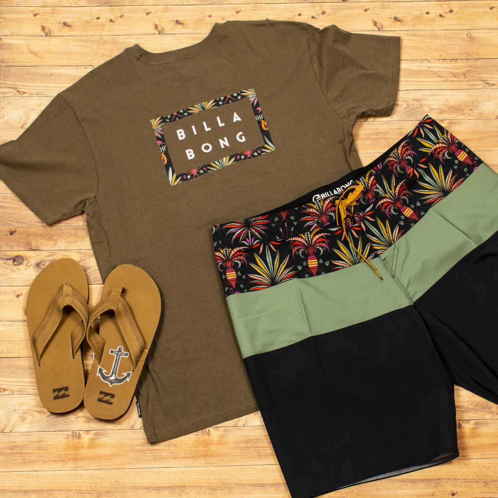 Relaxed Billabong Look