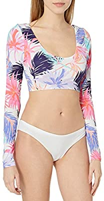 Hobie In-The-Mix Cropped L/s Rashguard