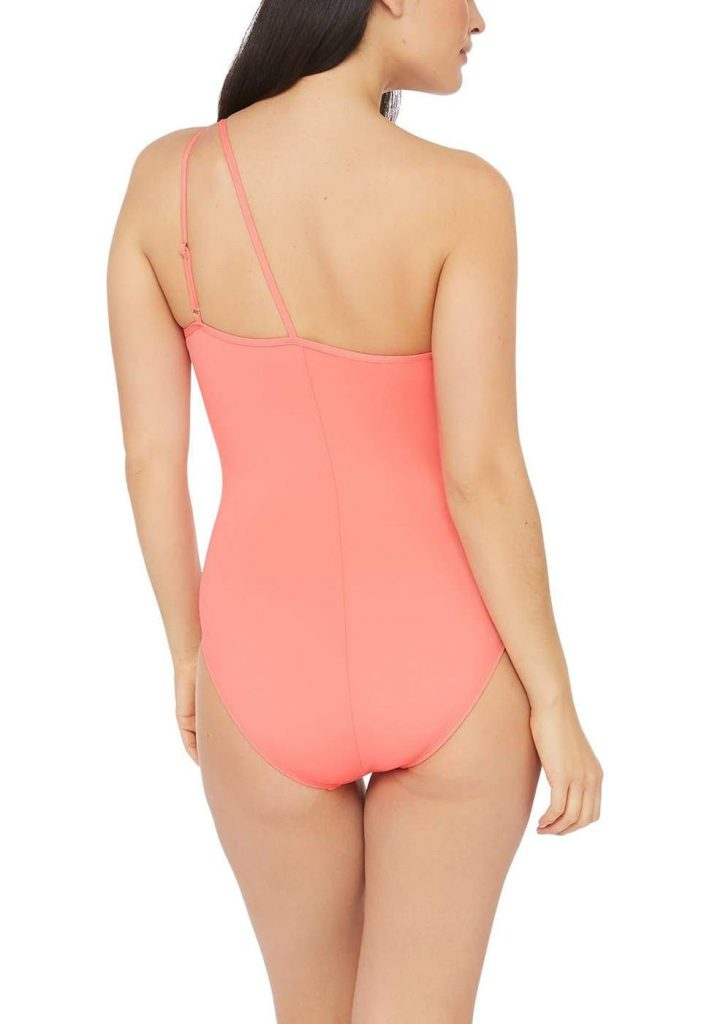 Island Goddess One Shoulder Cut-Out One Piece Swimsuit