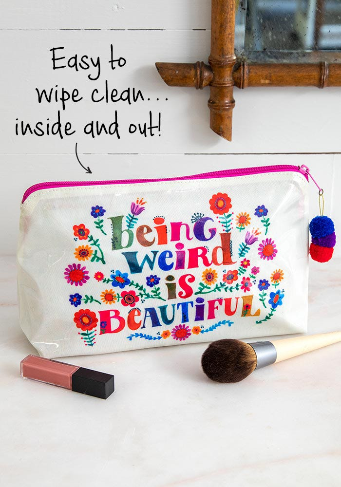Being Weird Make-Up Bag