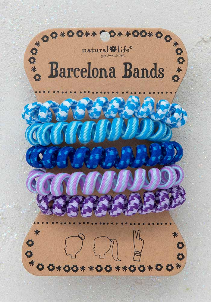 Barcelona Bands – Paracord Blue