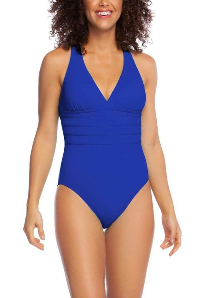 Island Goddess Multi-Strap Cross-Back One Piece