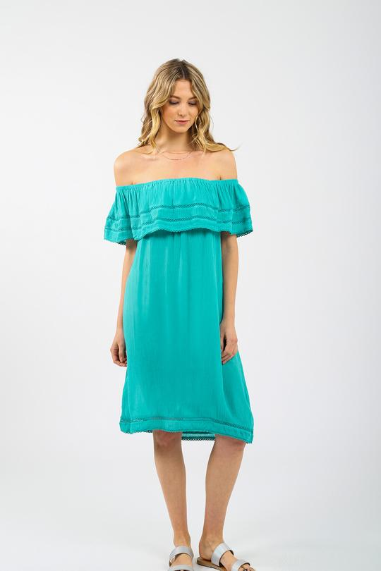Miami Off The Shoulders Dress