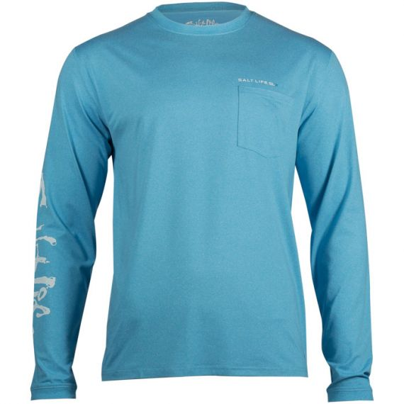 Xtreme Performance Long Sleeve Pocket Tee