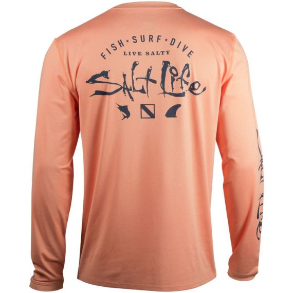 Watermans Trifecta Performance Long Sleeve Pocket Tee
