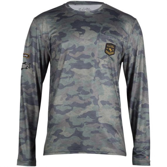 Rogue Long Sleeve Performance Pocket Tee